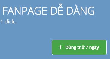 Đăng nhập dùng thử FBTarget